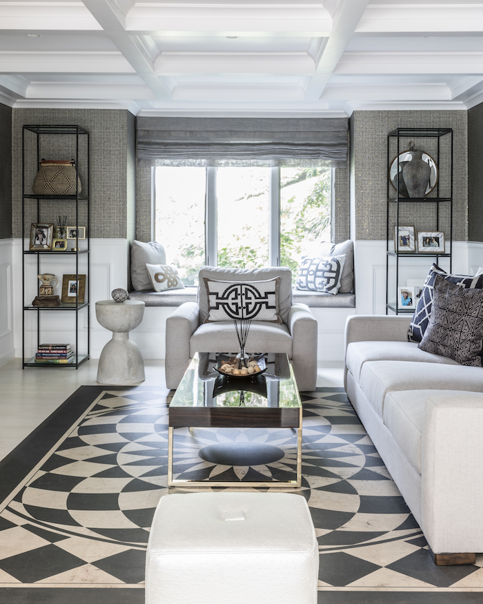 Contemporary Living Room Designed by Jennifer Scully