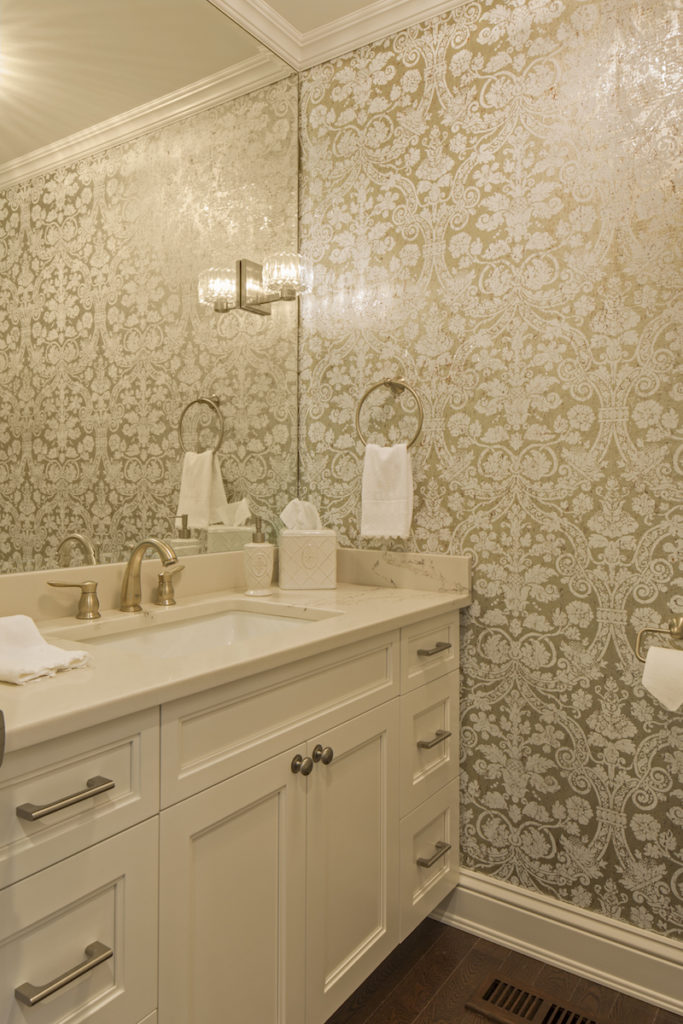 Chic Bathroom Design on Long Island