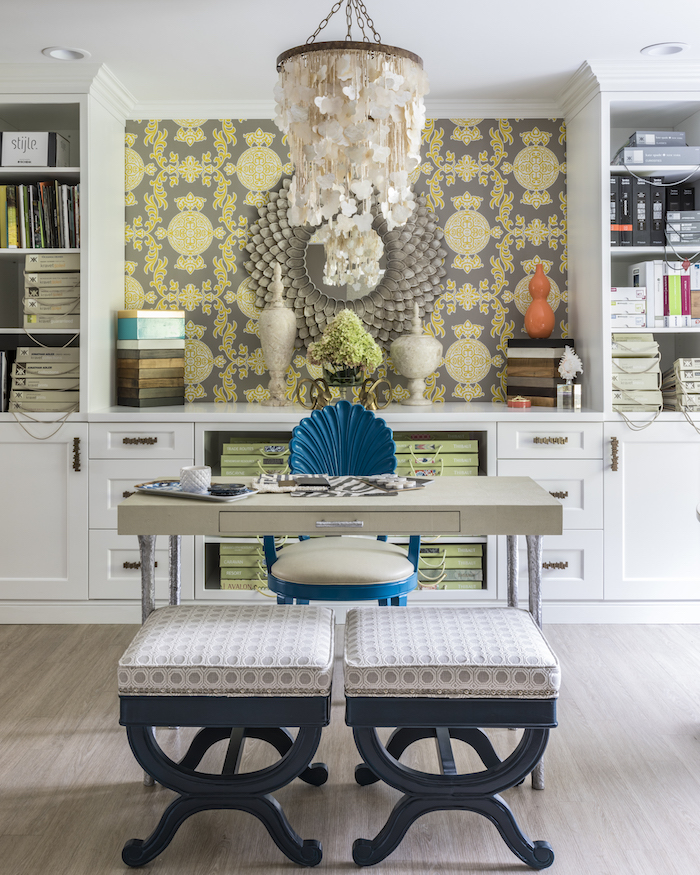 In Home Office Space Designed by Jennifer Scully