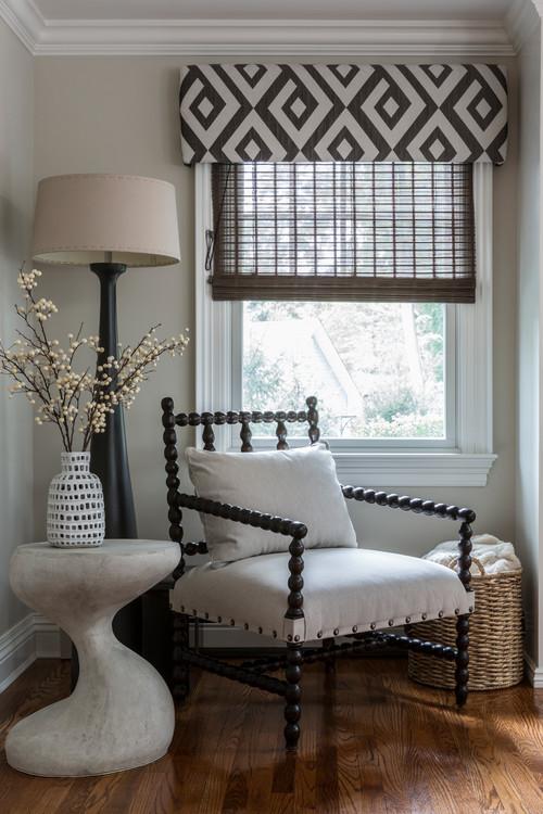 Transitional Living Room Design Details