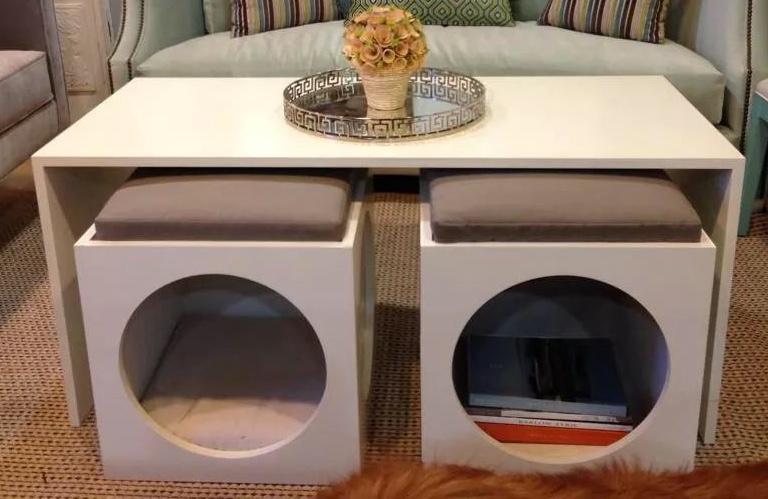Living Room Design Details by Jennifer Scully
