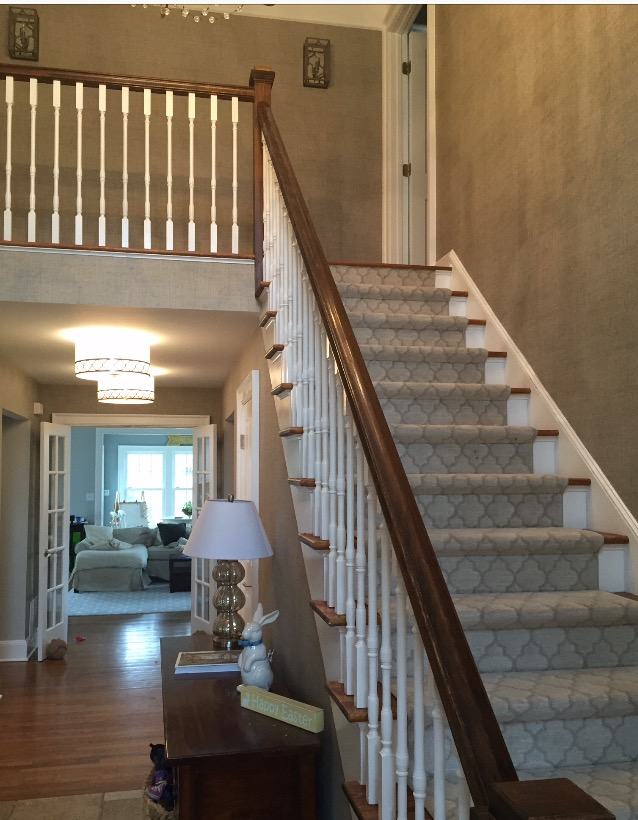 Entry Staircase Foyer Design by Jennifer Scully