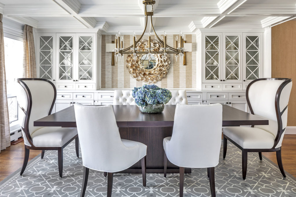 Long Island Dining Room Design by Jennifer Scully
