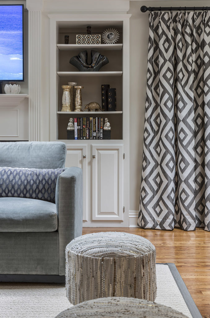 Long Island Living Room Design Details by Jennifer Scully