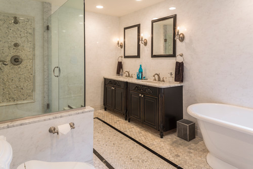 Traditional Bathroom Design by Jennifer Scully