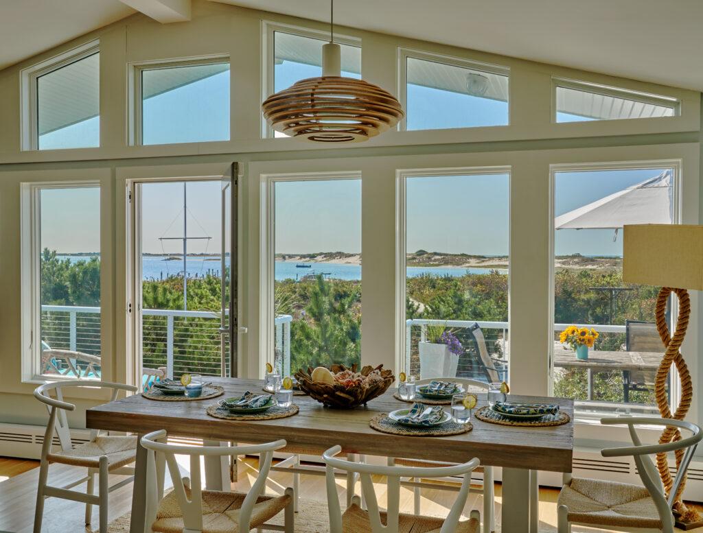 Coastal Dining Room by Jennifer Scully