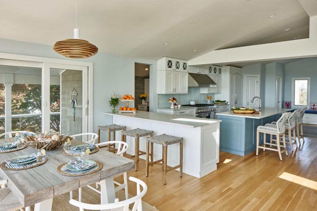Beach House Kitchen Design by Jennifer Scully