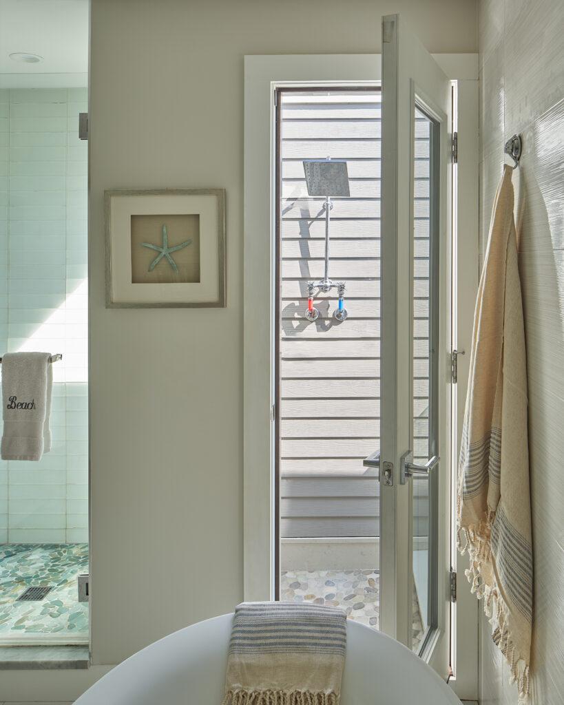 Coastal Bathroom by Jennifer Scully