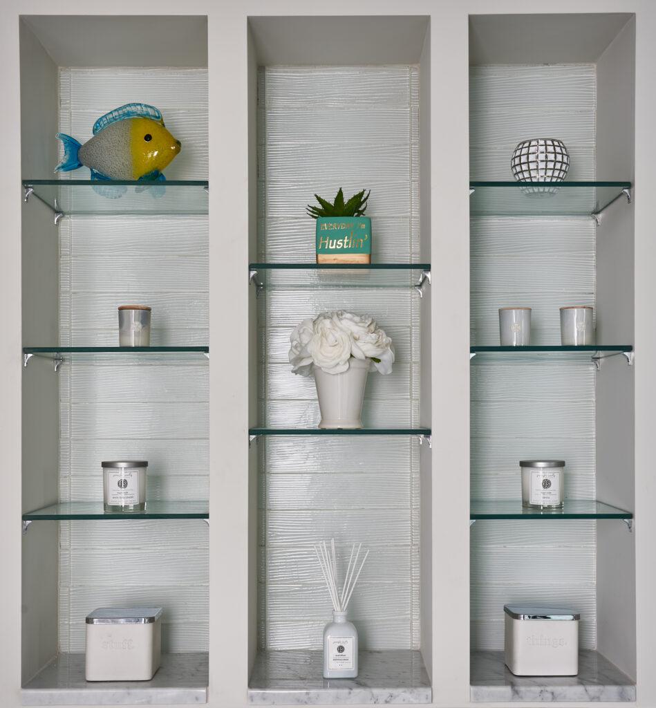 Coastal Decorative Built in Shelf Jennifer Scully